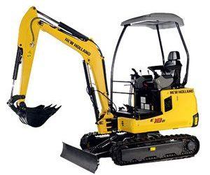 New Holland 2.7 tonne Excavator